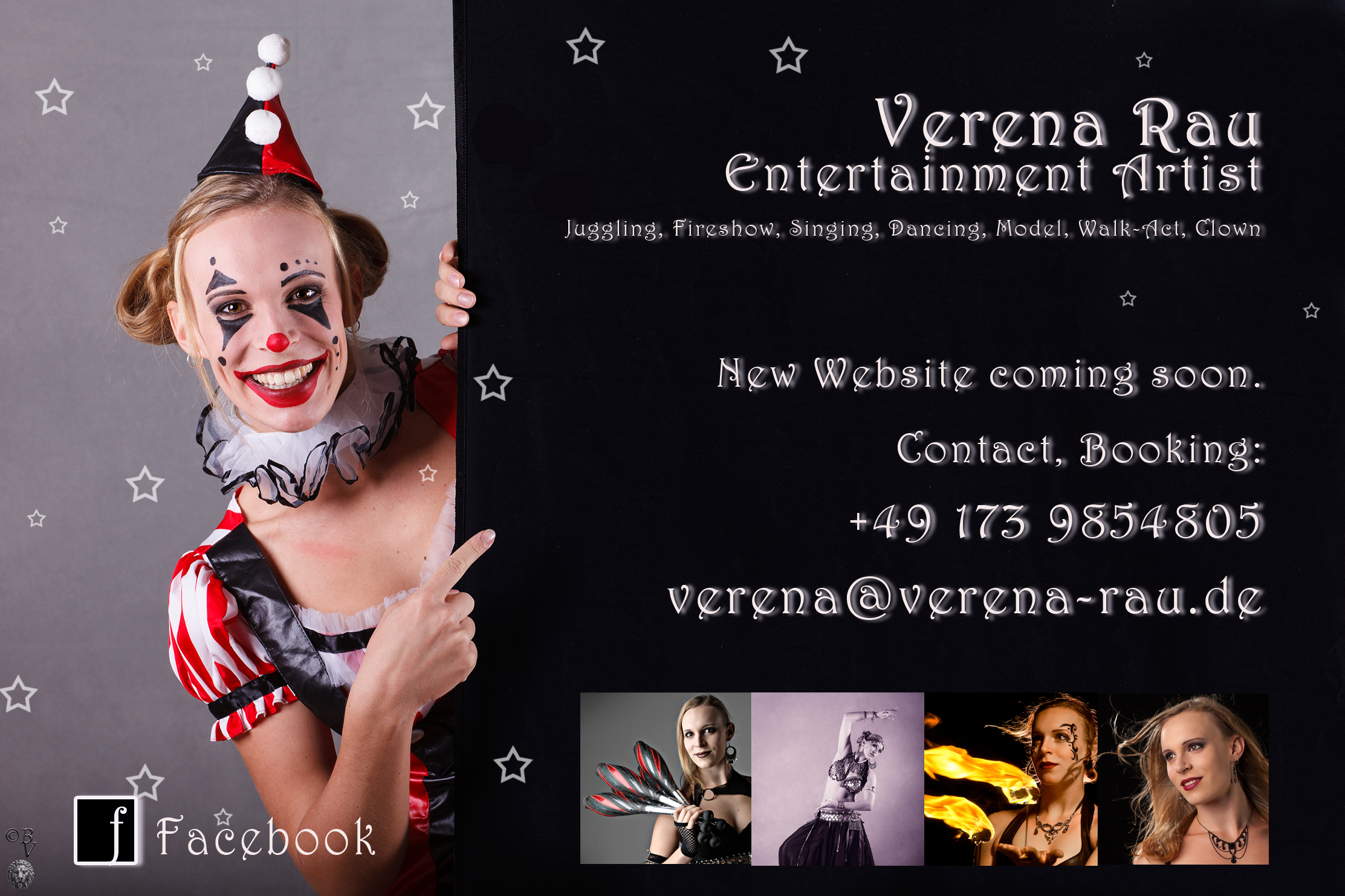 website is currently under construction. Click here for Verena's Facebook page
